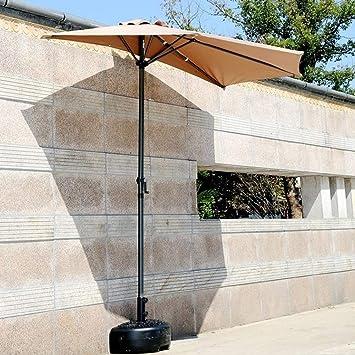 Lnddp Sombrillas Balcón Patio Pared Medio Paraguas