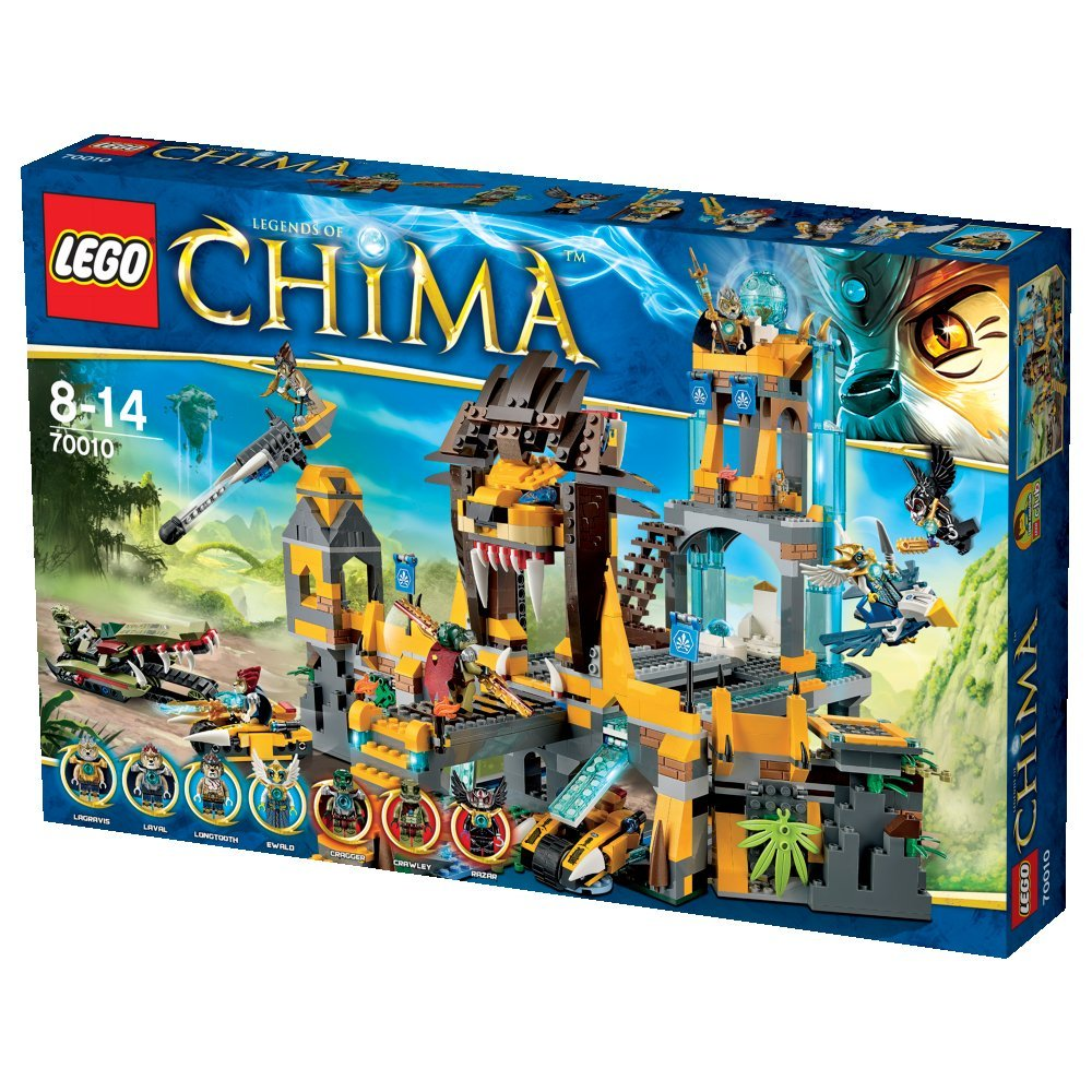 Amazon chima party supplies - Amazon Com Lego Chima Lion Temple 70010 Regochima Of Justice Japan Import Toys Games