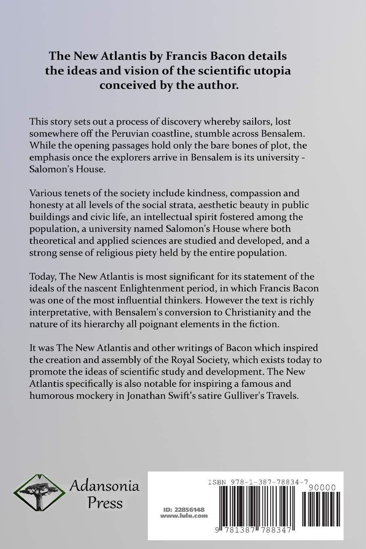 Buy The New Atlantis (Classic Books of Enlightenment Philosophy