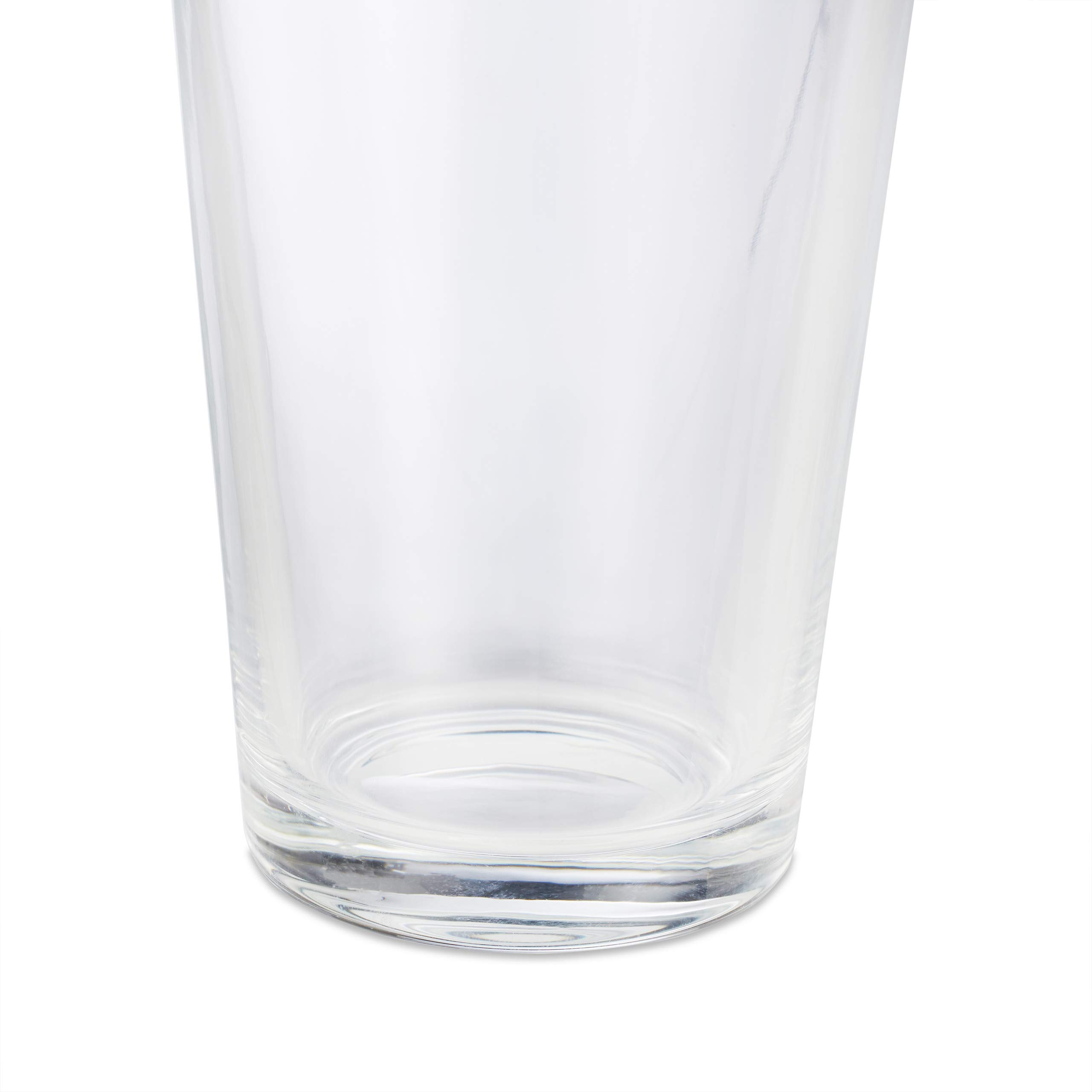Relaxdays 10023413 Set of 18 Drinking Glasses Thick-Walled Water Glasses Simple Design Dishwasher Safe 500 ml Transparent Glass by Relaxdays (Image #6)