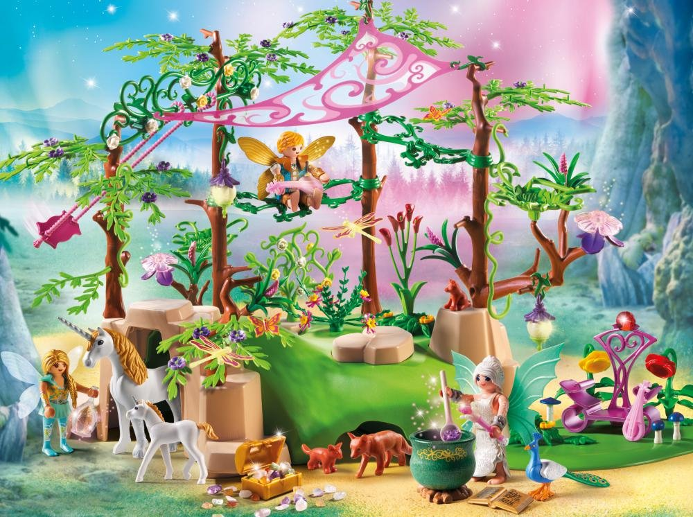 PLAYMOBIL Magical Fairy Forest Playset