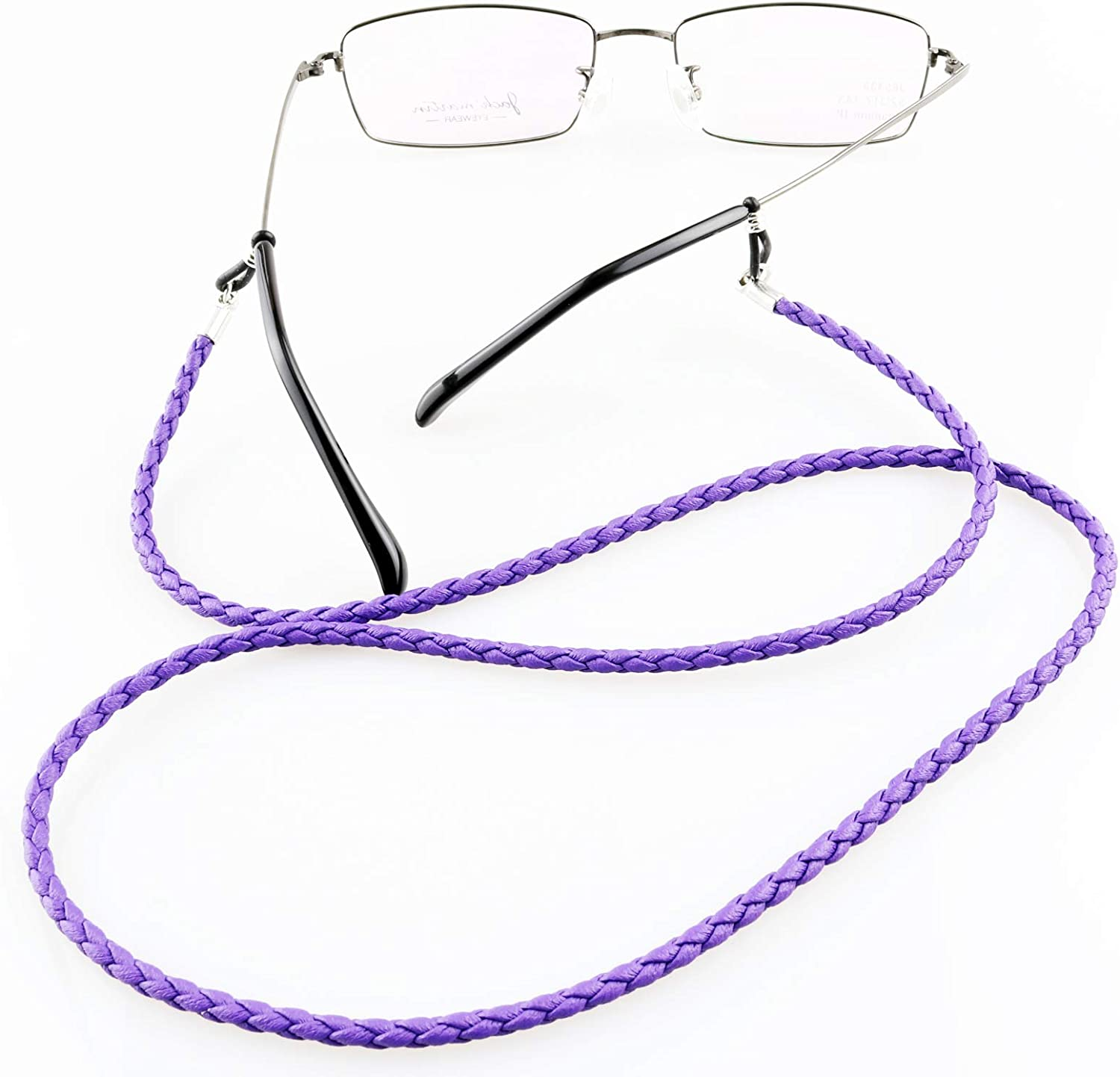Ultra Soft VITO Anti-Slip Lightweight Leather Eyeglasses Chain Cord Holder Retainer for Spectacles /& Sunglasses A008 70cm Fits All Eyeglasses Types
