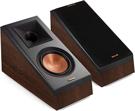 Klipsch RP-500SA Reference Premiere Dolby Atmos Speakers - Pair (Walnut) (Renewed)