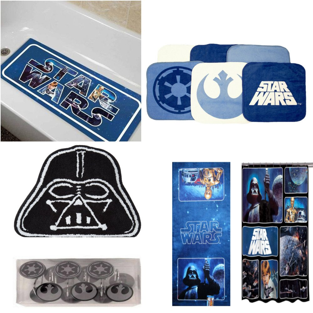 Star Wars Bathroom Accessories Bundle by TriFinds