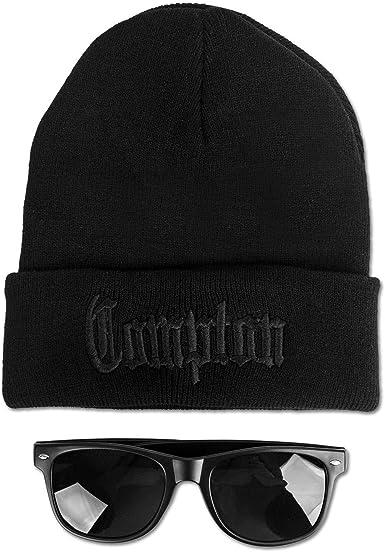 Ciudad Compton f/ácil e Gorra/ /Negro