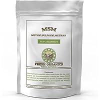 MSM PULVER   2 kg - 6 kg   Methylsulfonylmethan   99,9% Reinheit - organischer Schwefel   Ohne Zusatzstoffe (2kg)