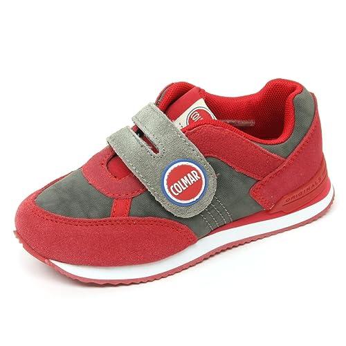Travis Bimbo Kid34 Colmar Scarpa B8927 Verderosso Sneaker Shoe 53ALj4qR
