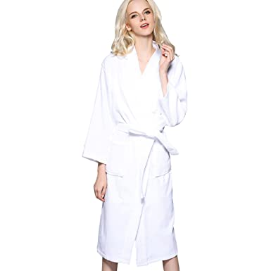 665aa17167 Image Unavailable. Image not available for. Colour  Olivia s Stylism  Boutique Women s Cotton Towelling Bath Robe Lounge Dressing Gown Nightwear