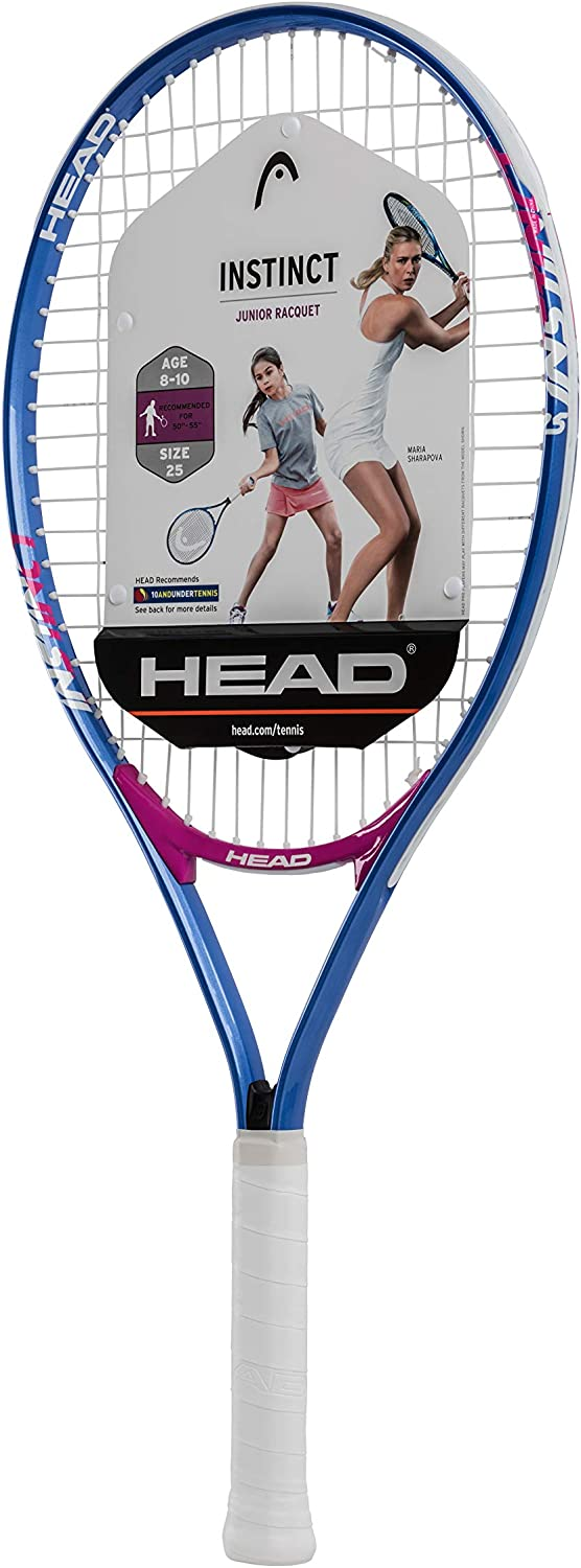 HEAD Instinct Kids Tennis Racquet - Beginners Pre-Strung Head Light Balance Jr Racket - 25""