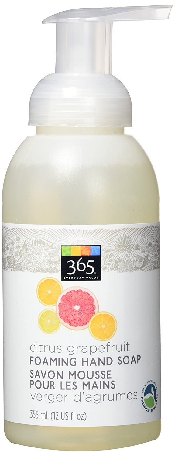 365 Everyday Value Foaming Hand Soap Citrus Grapefruit, 355 mL Whole Foods Market