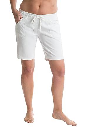 OCTAVE® Ladies Linen Shorts: Amazon.co.uk: Clothing