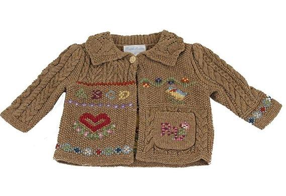 Polo Ralph Lauren - Ropa de Punto - para bebé niña Marrón marrón 3 ...