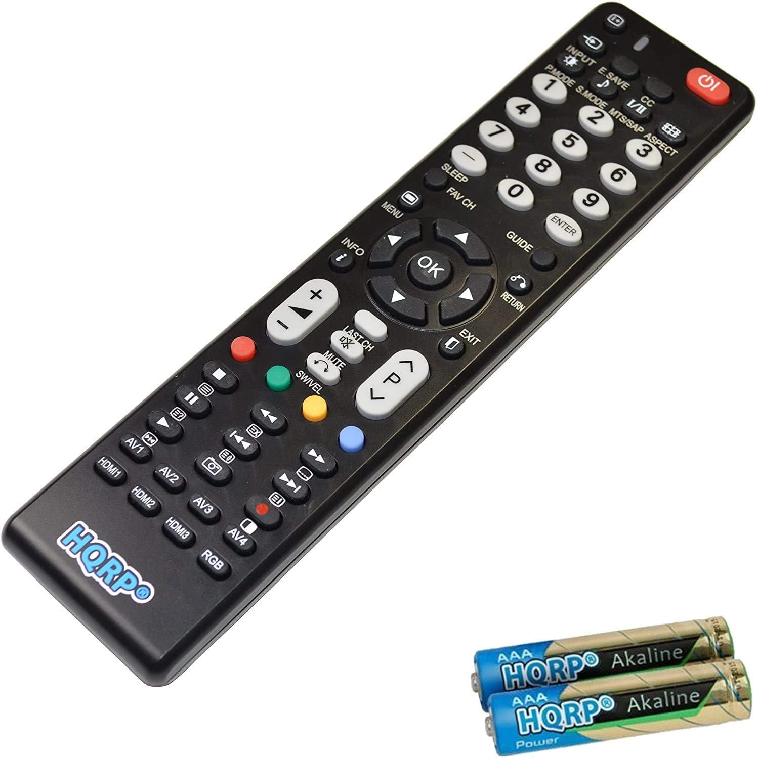 HQRP Mando a distancia universal para Hitachi 50HYT62U, 32HYJ46U, 32HYT46U, 32hbj46u, 28HYJ45U LCD LED HD TV Smart televisores: Amazon.es: Electrónica