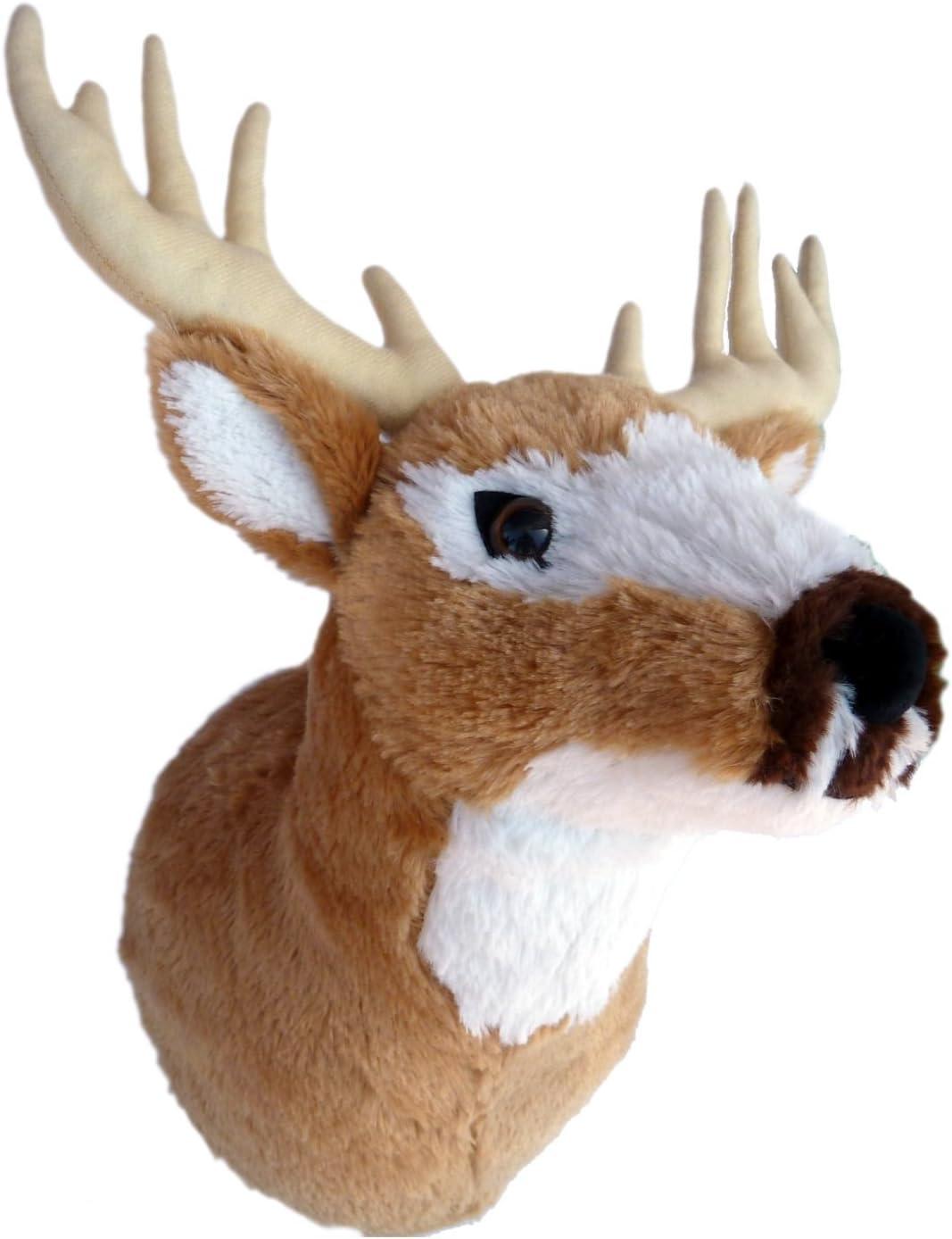 "ADORE 13"" Mr. Yosemite the Deer Plush Stuffed Animal Walltoy Wall Mount"
