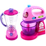 Toy Kitchen Sets Happy Kitchen Blender Mixer Pretend Play Battery Operated Toy Home Appliances Play Set