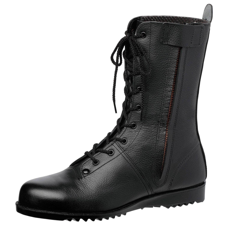 ミドリ安全 高所作業用安全靴 長編上 VS5311NXF オールハトメ ブラック 23.5~28.0cm(EEE) B01N3PRGPQ 23.5 cm