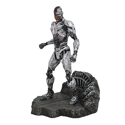 DIAMOND SELECT TOYS DC Gallery: Justice League Movie Cyborg PVC Gallery Figure, Model:NOV172423: Toys & Games