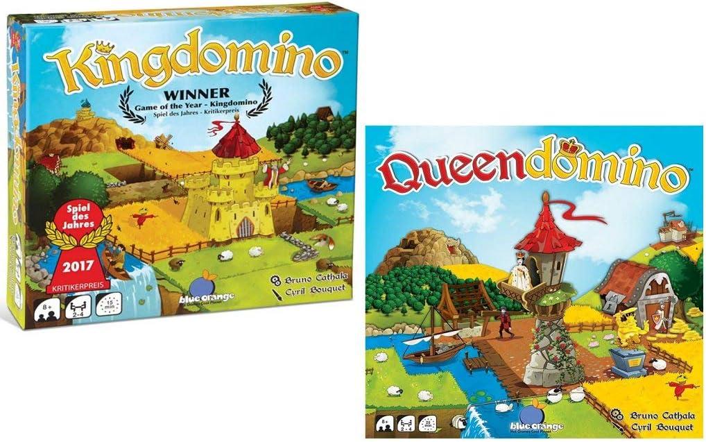 Blue Orange Kingdomino and Queendomino Bundle: Amazon.es: Juguetes y juegos