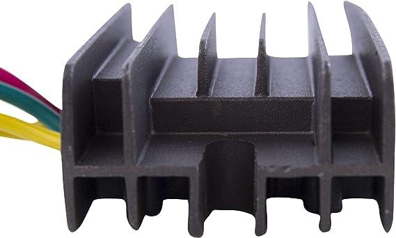 4x4 Manual 2000 2001 Voltage Regulator Rectifier for Arctic Cat 400 500 2x4 OEM Repl.# 0530-006 0530-137