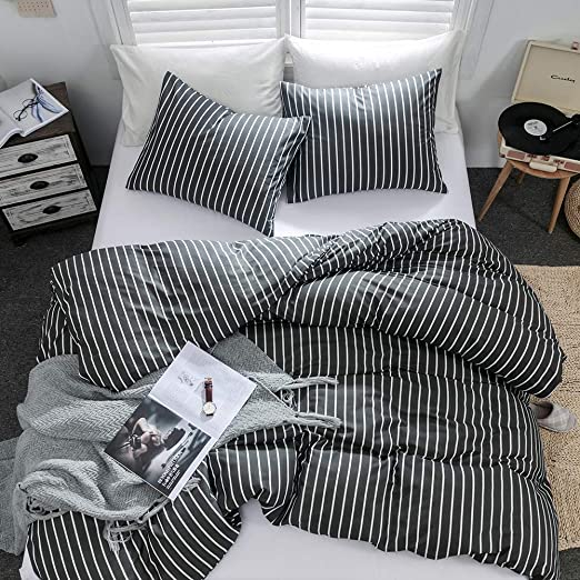Amazon.com: Argstar 2 Pcs 100% Cotton Duvet Covers Twin Size