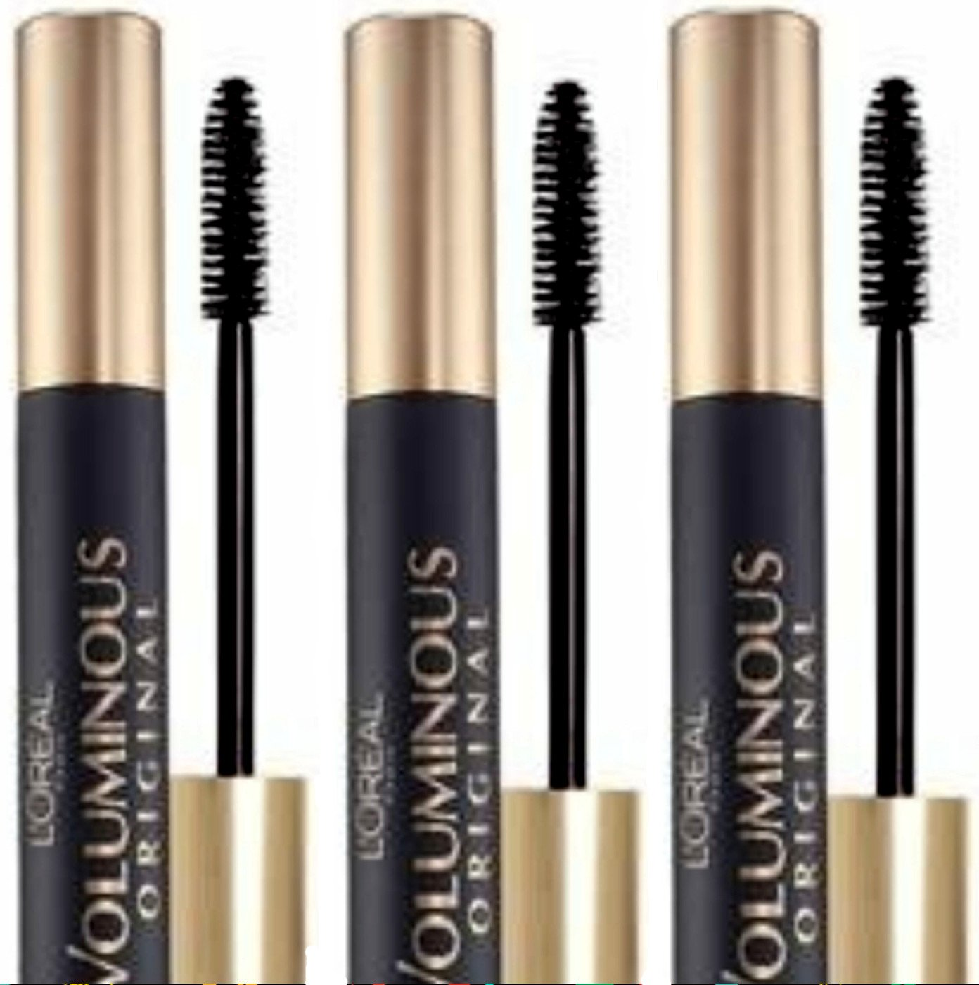 580803393fe Amazon.com: Loreal Paris Original Voluminous Black 305 Volume Building  Mascara -- 3 per case.: Health & Personal Care