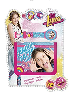 Disney Soy Luna Gift SET Watch + Wallet Enjoy Random faces