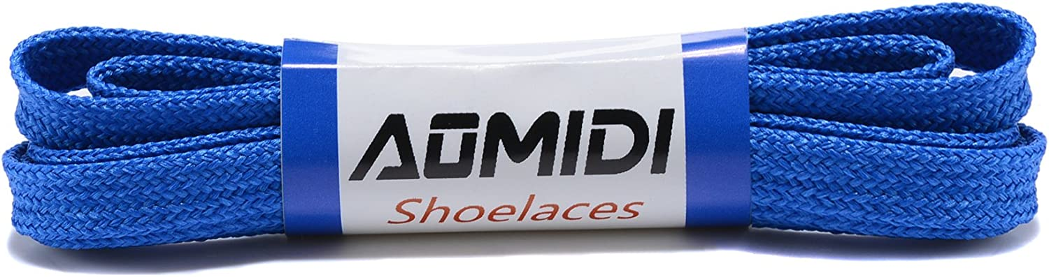 - Wide Shoelaces 2 Pairs Flat Shoe Laces for Sneakers and Shoes Flat Shoelaces Wide Shoes Lace