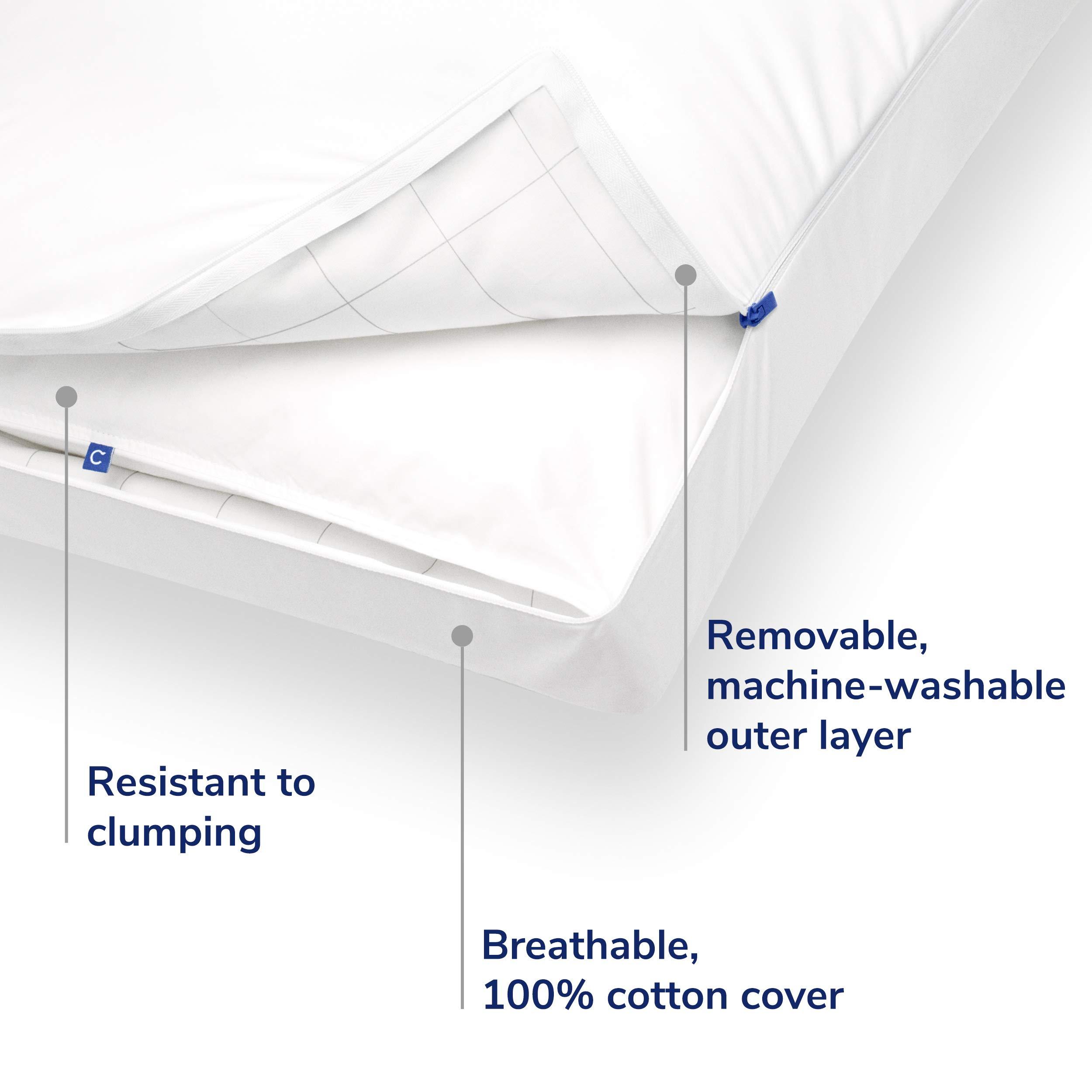 Casper Pillow for Sleeping, Standard, White by Casper Sleep (Image #3)