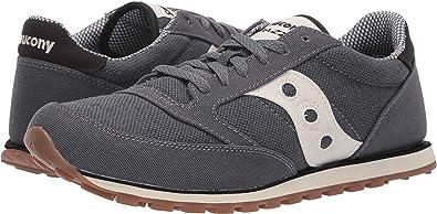 Saucony Originals Men's Jazz Low Pro Vegan Sneaker,BlackOatmeal,10 M