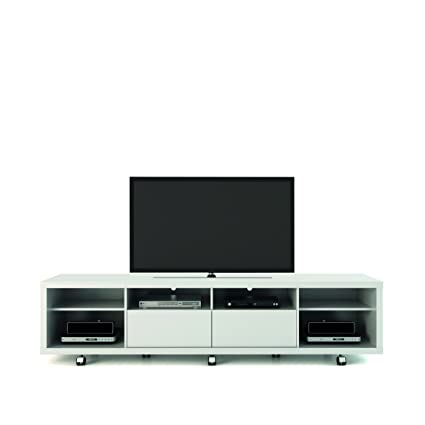Manhattan Comfort Cabrini 2.2 Stand Collection Free Standing TV Stand With  Storage, 85.4u0026quot; L