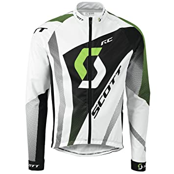 Scott All Season RC Pro Plus Mens Cycling Jersey - Green-S  Amazon ... 634ebcba0