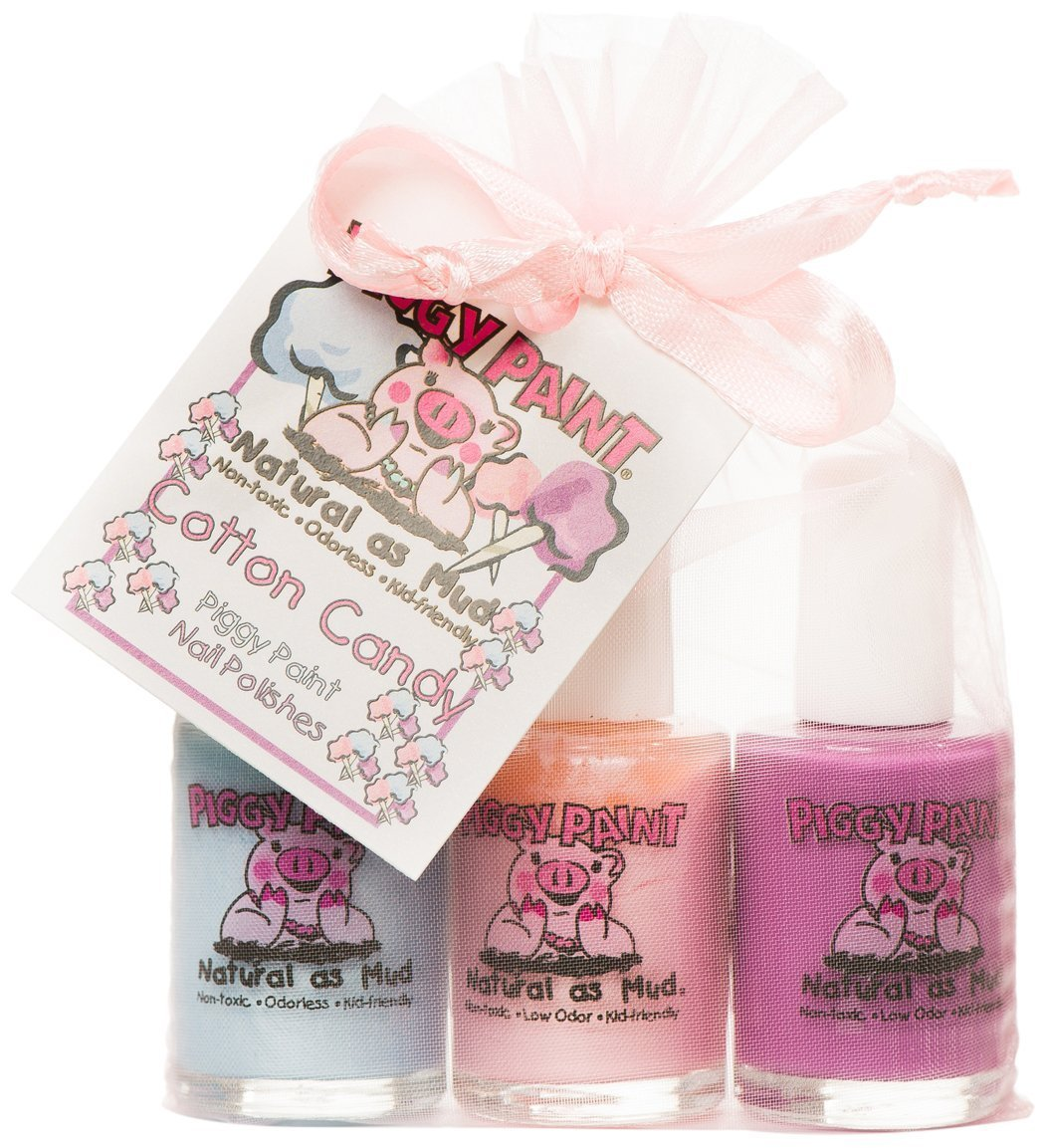 Amazon Com Smitco Llc Kids Nail Polish: Amazon.com : Piggy Paint Nail Polish Gift Set, Little