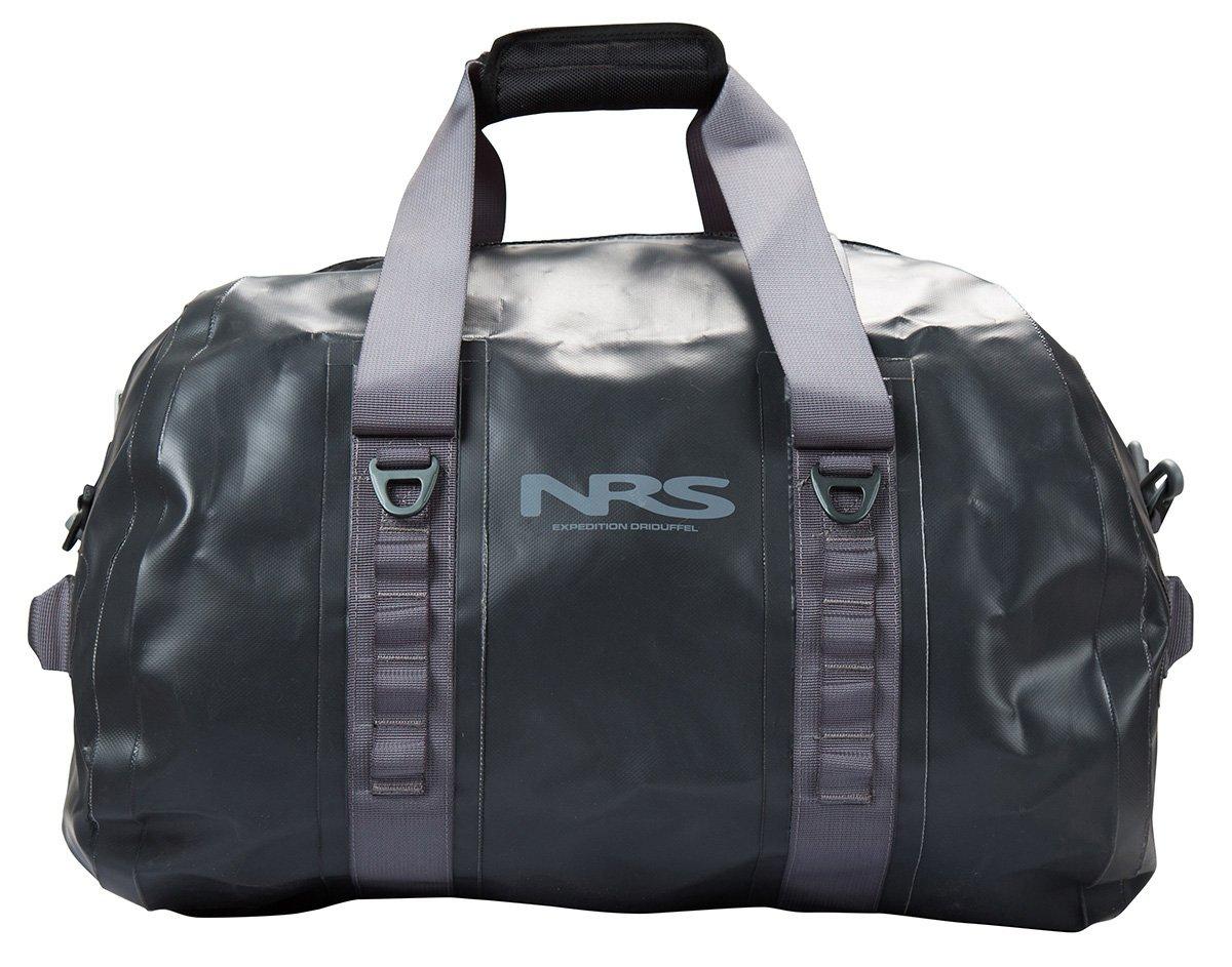 NRS Expedition DriDuffel Dry Bag, 70L Flint Black One Size