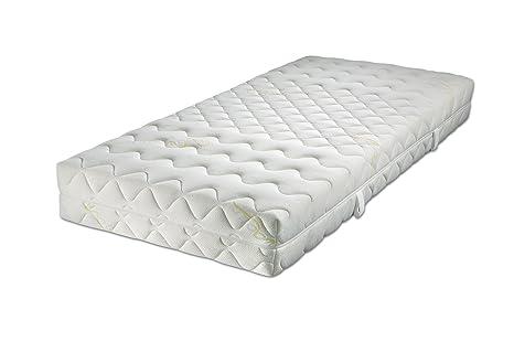 Malie Medicott Esmeralda, colchón de muelles ensacados, 5 zonas, color blanco