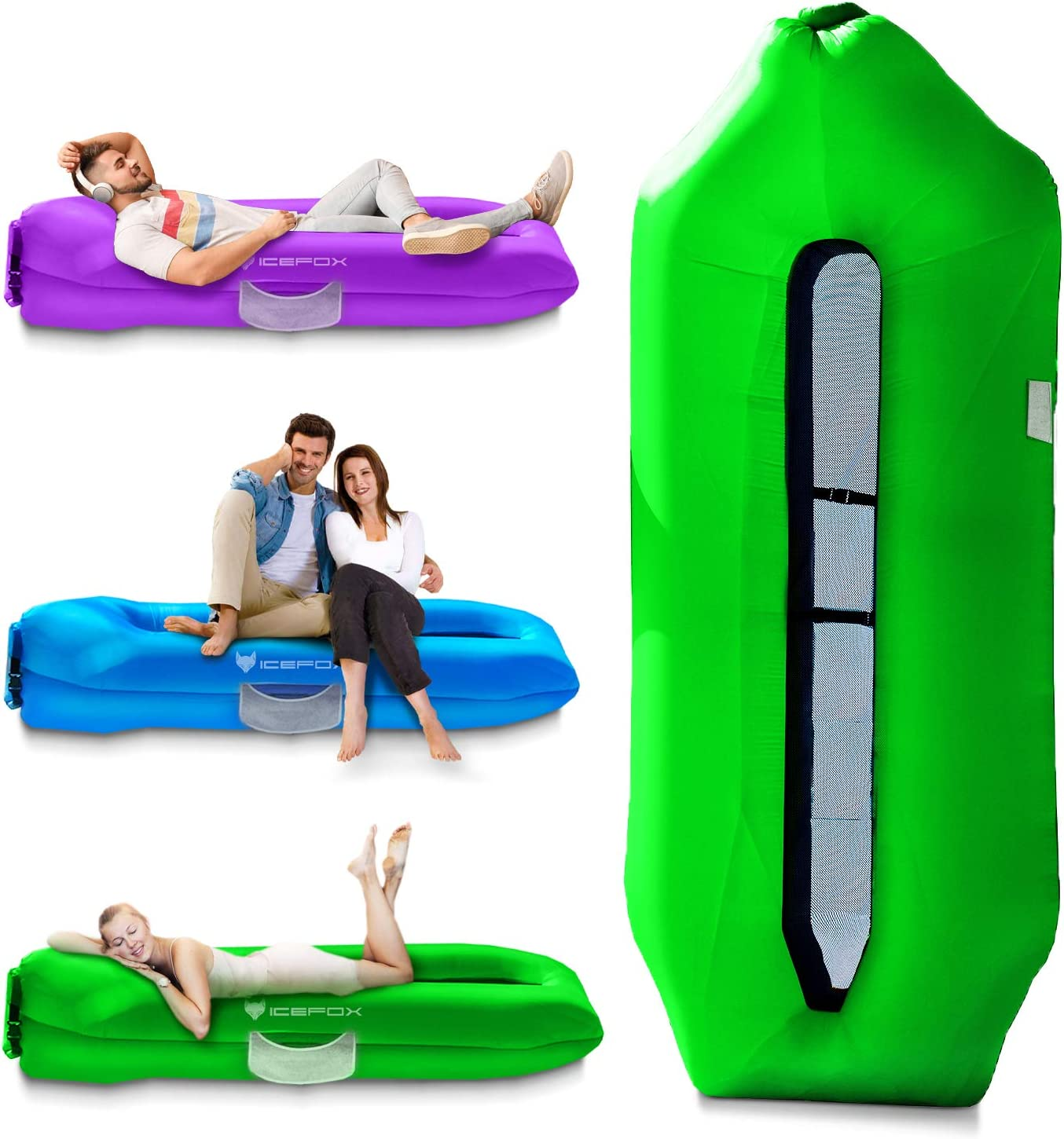 IceFox Inflatable Lounger
