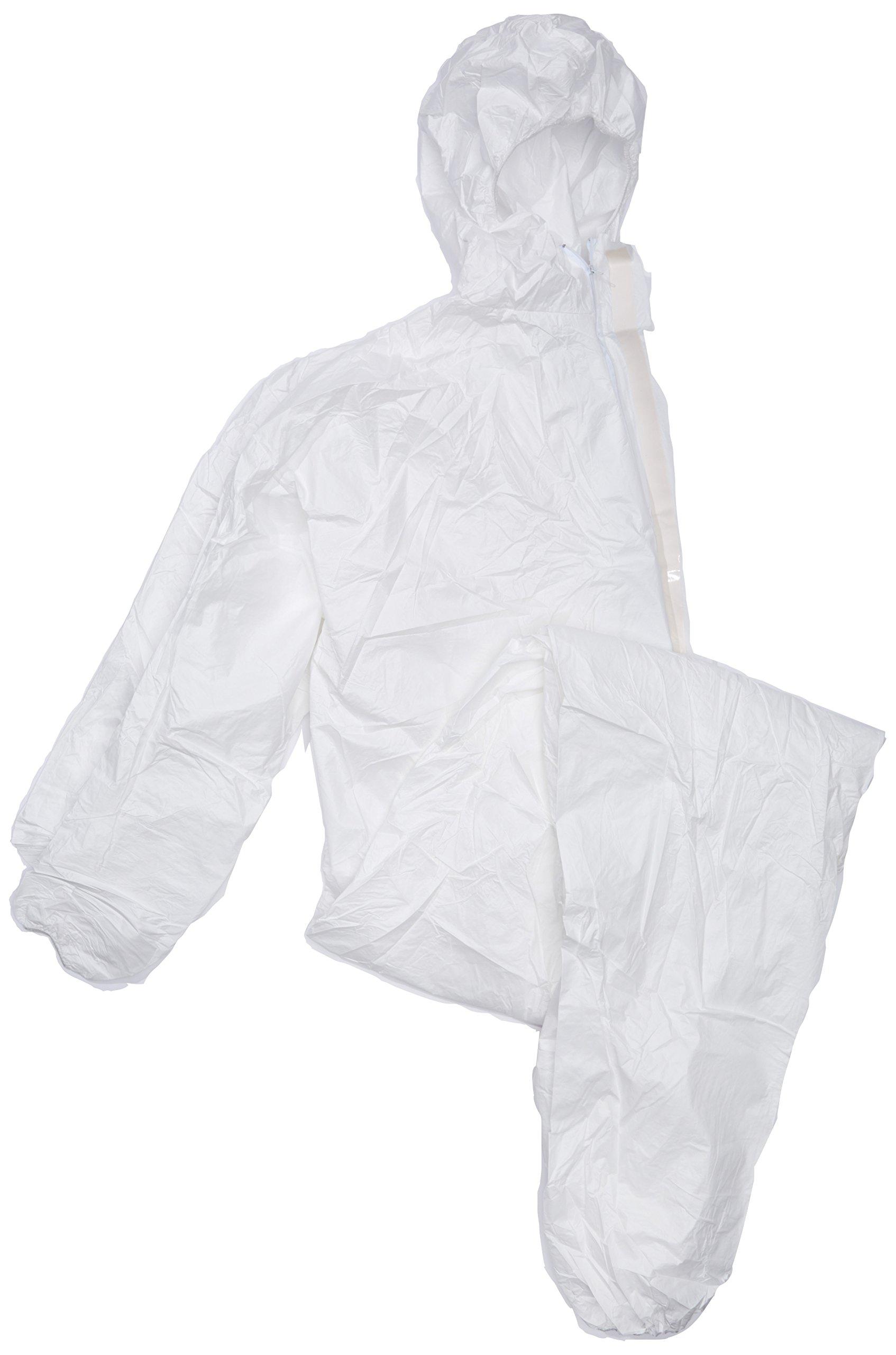 Florida Coast 44-1400 Virus & Disease Protective Wear Coveralls,, Extra Large,, White