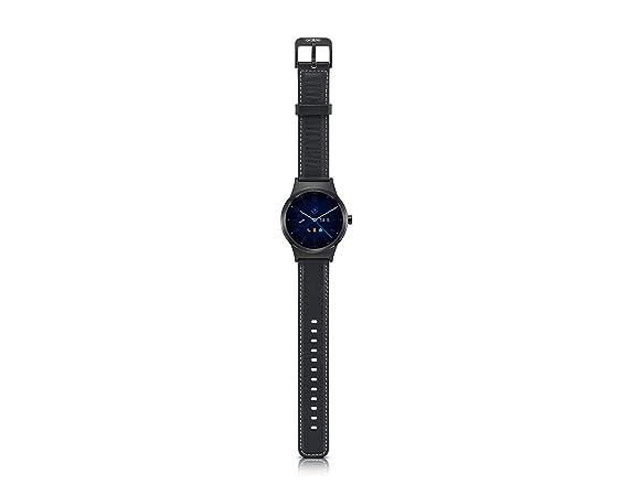 Alcatel TCL Movetime Smartwatch Cuero, Negro: Amazon.es ...