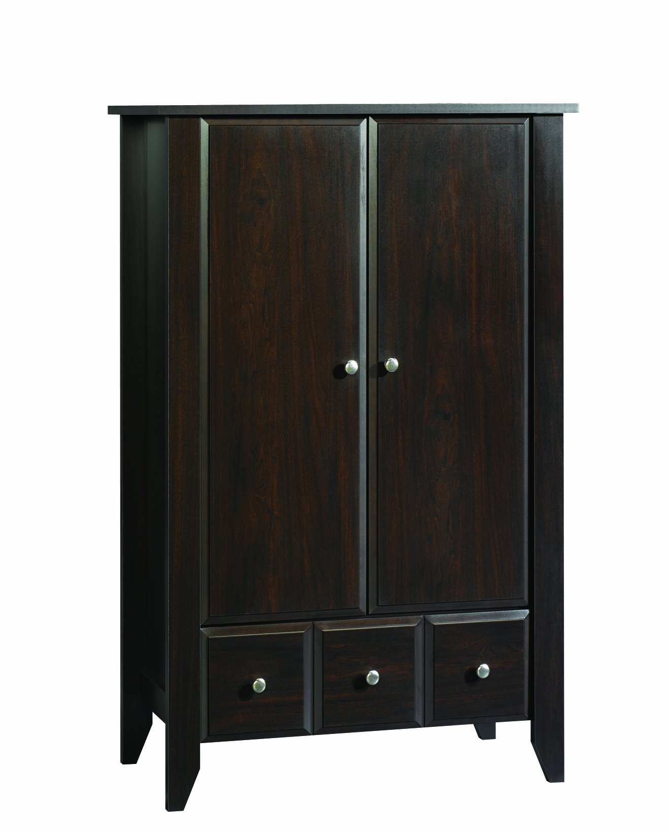 Child Craft Shoal Creek Ready-to-Assemble Armoire, Jamocha Wood Finish