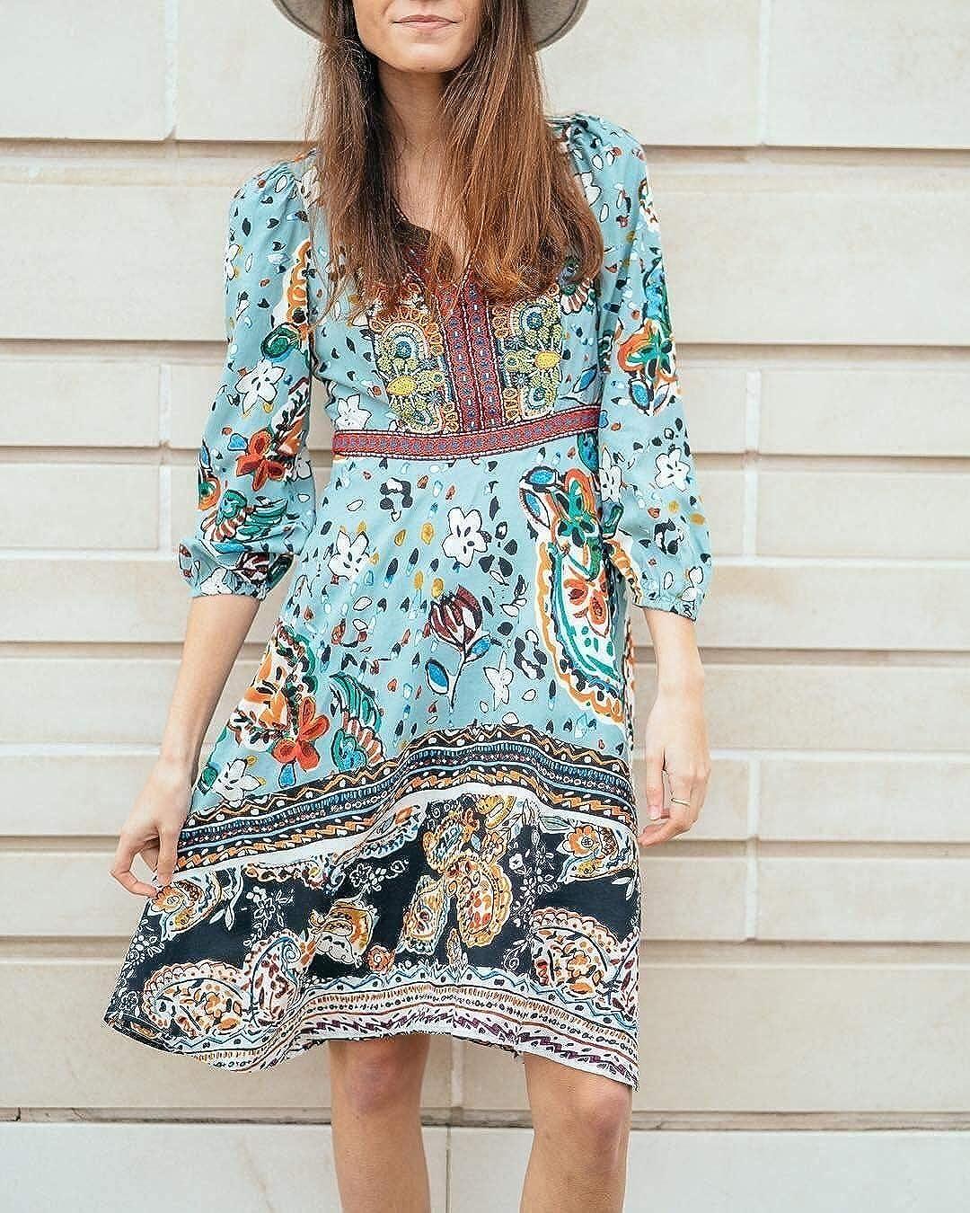 653e4e07d9de4 Anthropologie Beaded Karmina Dress by Akemi+Kin - NWOT (6) at Amazon  Women's Clothing store: