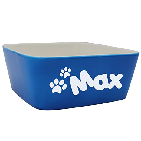 aaae6f880c54 Custom Personalized Pet Bowl Gift - Engraved Dog and Cat Bowls - Monogrammed  Ceramic Dish (