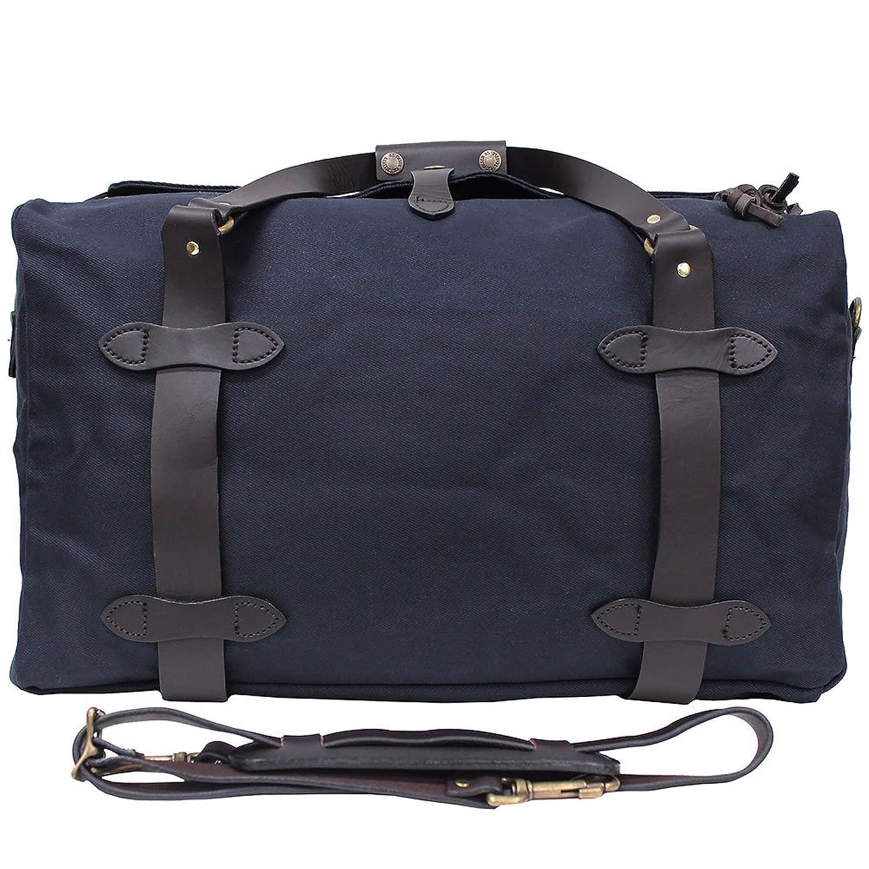 FILSON/フィルソン MEDIUM DUFFLE BAG/ミディアムダッフルバッグ 70325/A3 2WAY/ショルダーバッグ/ボストンバッグ/カバン/鞄 メンズ [並行輸入品] B01NAV1EG4ネイビー