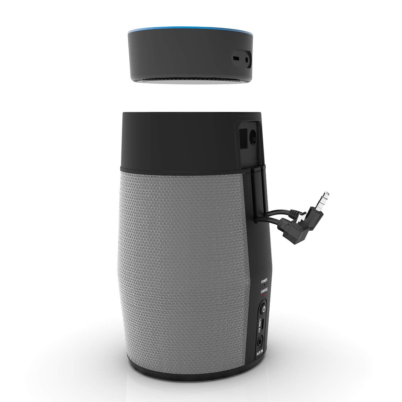 スマートワイヤレススピーカー Amazon Echo Dot 第2世代用 Echo Dot ポータブルスピーカー 充電式バッテリー内蔵 Alexaを解放   B07F68TZ2H