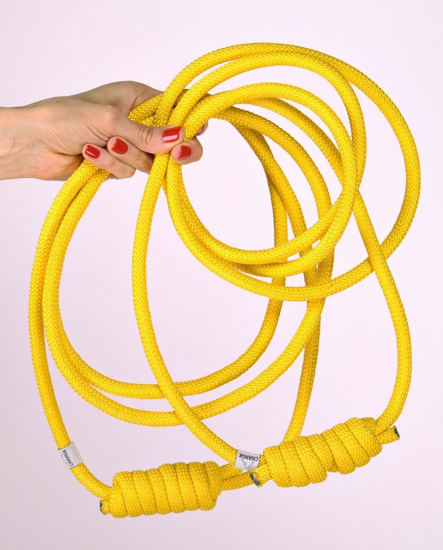 Amazon.com: Cuerda con nudo para práctica de yoga: Sports ...