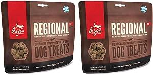 Orijen 2 Pack Freeze Dried Regional Red Dog Treat 3.25 Ounce ea.