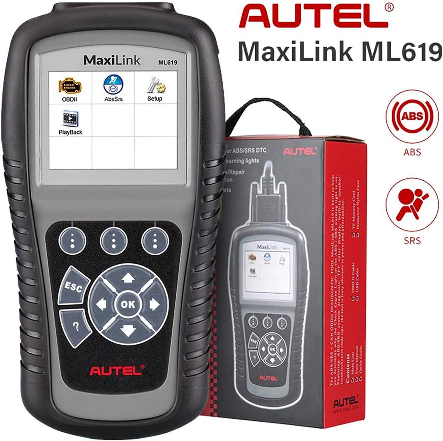 Autel ABS SRS ML619