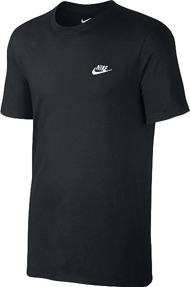 NIKE M NSW tee Club Embrd Ftra Camiseta, Hombre: Amazon.es: Ropa y ...