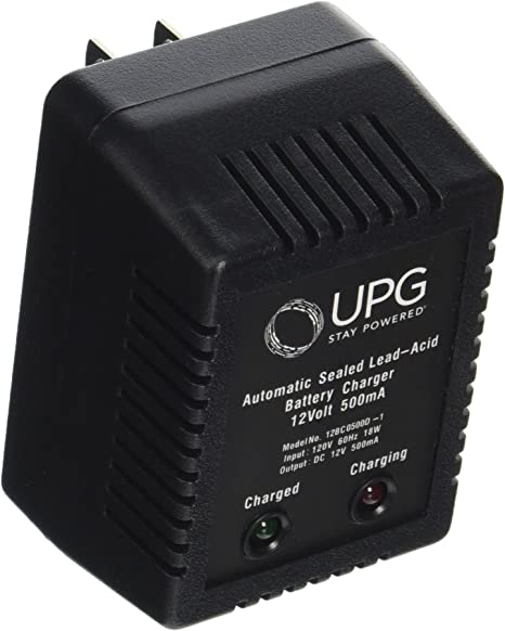 Amazon.com: UPG d1730 Sealed Lead Acid Cargador (12 V dual ...