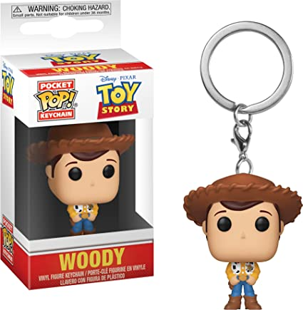 Funko- Pocket Pop Keychain: Toy Story: Woody 37018-Llavero de Bolsillo, Multi, (37018)