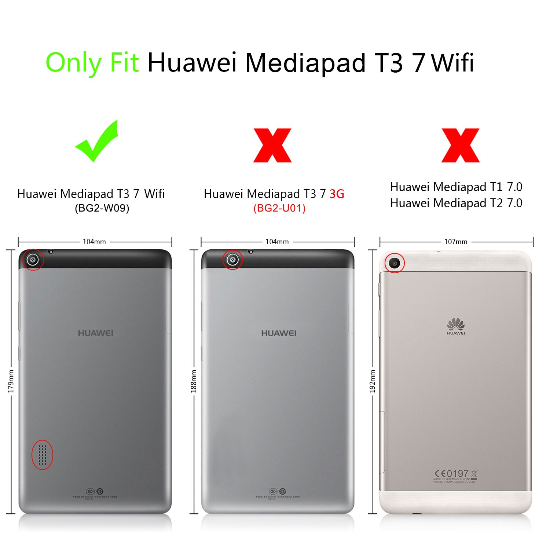 custodia tablet huawei mediapad t3 7