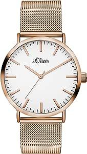 s. Oliver Time de mujer reloj de pulsera So de 3325de MQ